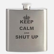 KEEP CALM AND SHUT UP Flask