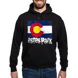Estes park Dark Hoodies