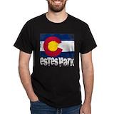 Estes park Mens Classic Dark T-Shirts