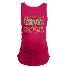 TINSEL IN A TANGLE Maternity Tank Top