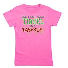 TINSEL IN A TANGLE Girl's Tee
