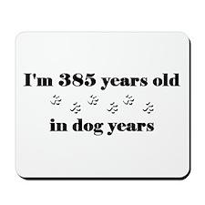55 dog years 3-2 Mousepad