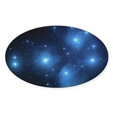 The Pleiades Star Cluster Decal