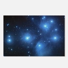 The Pleiades Star Cluster Postcards (Package of 8)