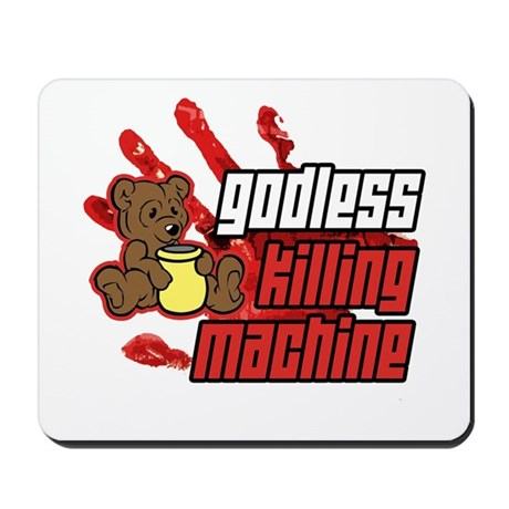 Godless Killing Machine 2 Mousepad