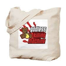 Godless Killing Machine 2 Tote Bag