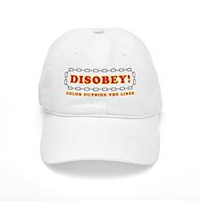 Disobey Outside Lines Baseball Cap