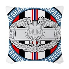 OEF CFMB Woven Throw Pillow