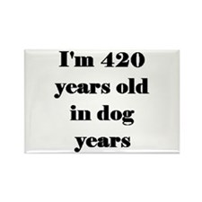 60 dog years 3-3 Magnets