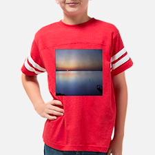 coaster_wborder_lowsunset_wit Youth Football Shirt