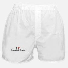 I Love Annabel Grace Boxer Shorts