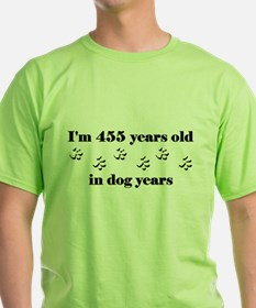 65 dog years 3-1 T-Shirt