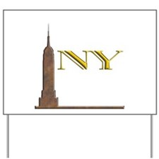 Empire State Building 1j Yard Sign