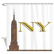 Empire State Building 1j Shower Curtain