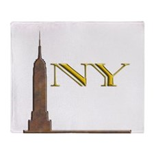 Empire State Building 1j Throw Blanket