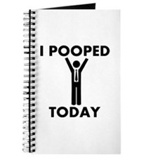 I Pooped Today Journal