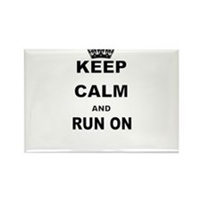 KEEP CALM AND RUN Magnets