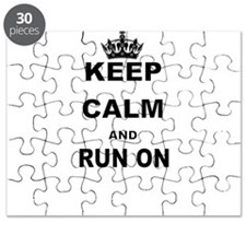 KEEP CALM AND RUN Puzzle