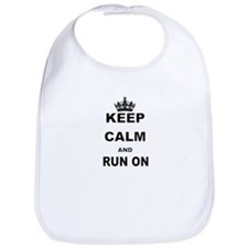 KEEP CALM AND RUN Bib