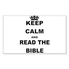 KEEP CALM AND READ THE BIBLE Decal