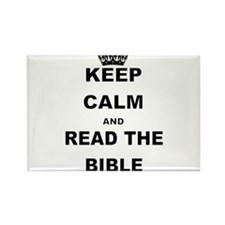 KEEP CALM AND READ THE BIBLE Magnets