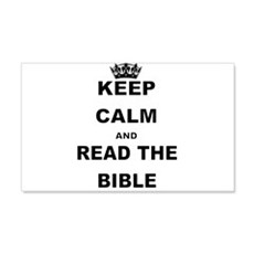 KEEP CALM AND READ THE BIBLE Wall Decal