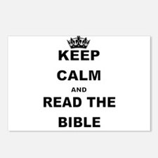 KEEP CALM AND READ THE BIBLE Postcards (Package of