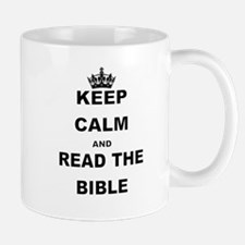 KEEP CALM AND READ THE BIBLE Mugs