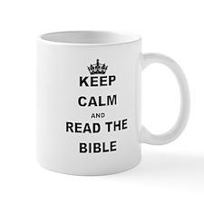 KEEP CALM AND READ THE BIBLE Mugs