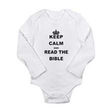 KEEP CALM AND READ THE BIBLE Body Suit