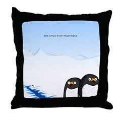Spicy Fish Collection Throw Pillow