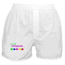 snail whisperer Boxer Shorts