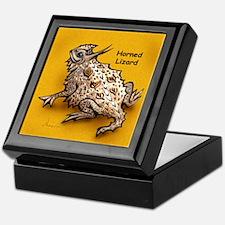 Horned Lizard Horny Toad Keepsake Box