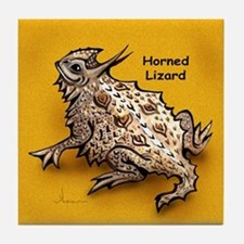 Horned Lizard Horny Toad Tile Coaster
