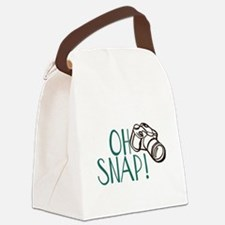 OH SNAP! Canvas Lunch Bag