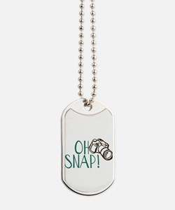 OH SNAP! Dog Tags