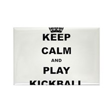KEEP CALM AND PLAY KICKBALL Magnets