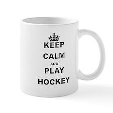 KEEP CALM AND PLAY HOCKEY Mugs