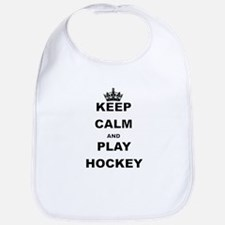 KEEP CALM AND PLAY HOCKEY Bib