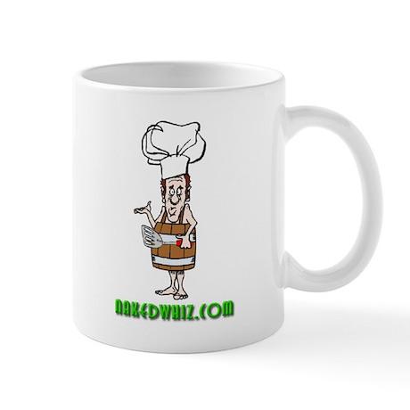 Authentic Naked Whiz Logo Mug