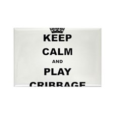 KEEP CALM AND PLAY CRIBBAGE Magnets