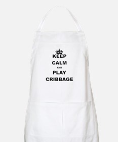 KEEP CALM AND PLAY CRIBBAGE Apron