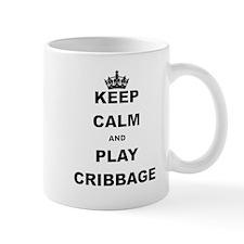 KEEP CALM AND PLAY CRIBBAGE Mugs