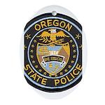 Oregon State Police Oval Ornament