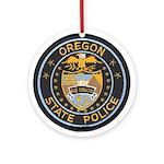 Oregon State Police Ornament (Round)