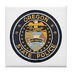 Oregon State Police Tile Coaster