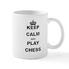 KEEP CALM AND PLAY CHESS Mugs