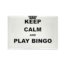 KEEP CALM AND PLAY BINGO Magnets