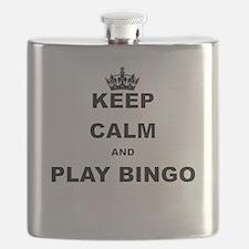 KEEP CALM AND PLAY BINGO Flask