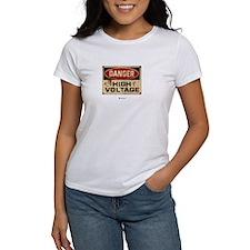 Danger High Voltage Tee